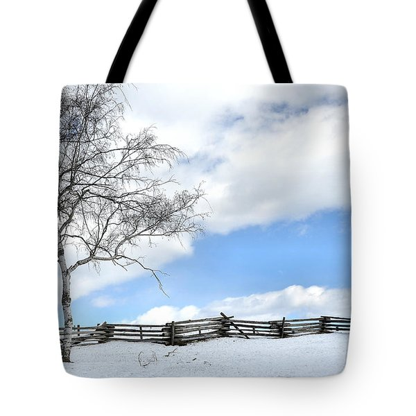 Standing Alone Tote Bag by Todd Hostetter