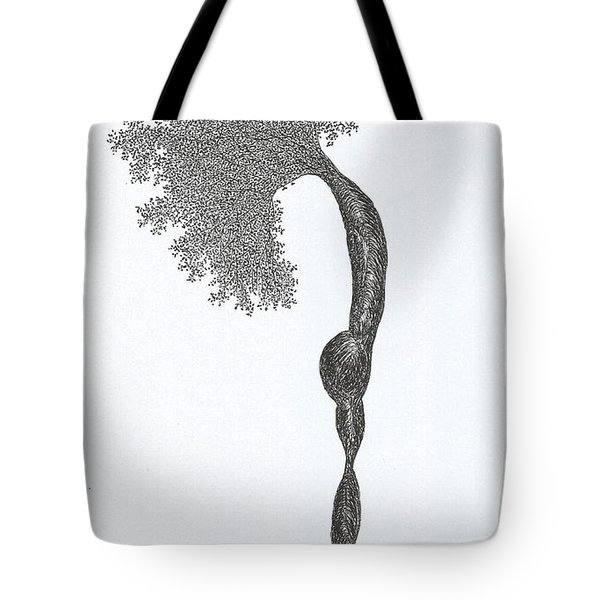 Standing Backward Bend Tote Bag