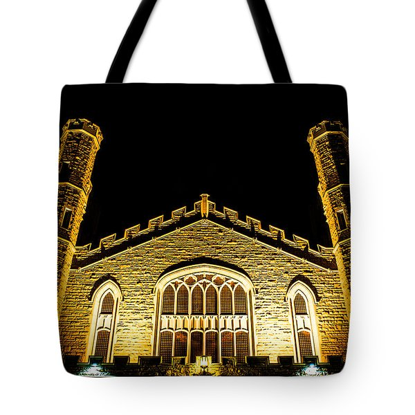 Standing Faith Tote Bag