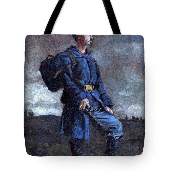 Standing Gaurd Tote Bag