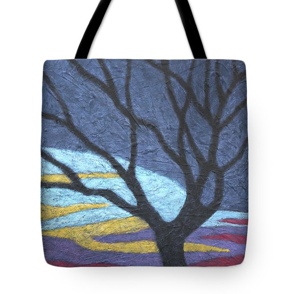 Standing In A Thundercloud Tote Bag