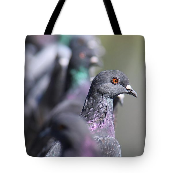 Tote Bag featuring the photograph Standing Out In A Crowd by Bob and Jan Shriner
