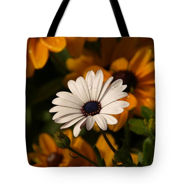 Tote Bag featuring the photograph Standing Out by James Peterson