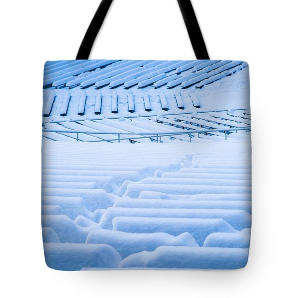 Standing Room Only - Featured 3 Tote Bag by Alexander Senin