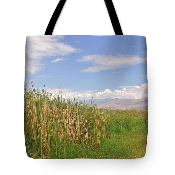 Tote Bag featuring the photograph Standing Tall by Marilyn Diaz