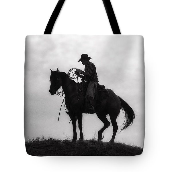 Standing Watch 2013 Tote Bag by Joan Davis