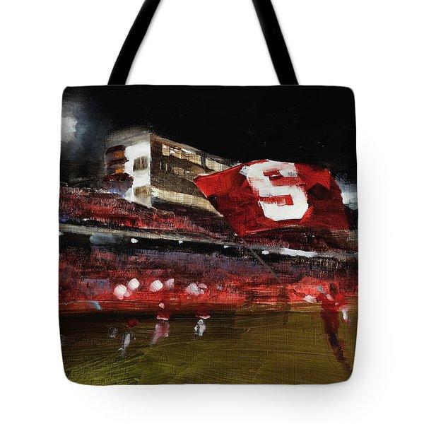 Stanford Nocturne Tote Bag