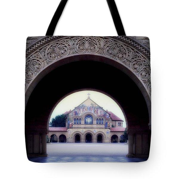 Stanford University Memorial Church Tote Bag