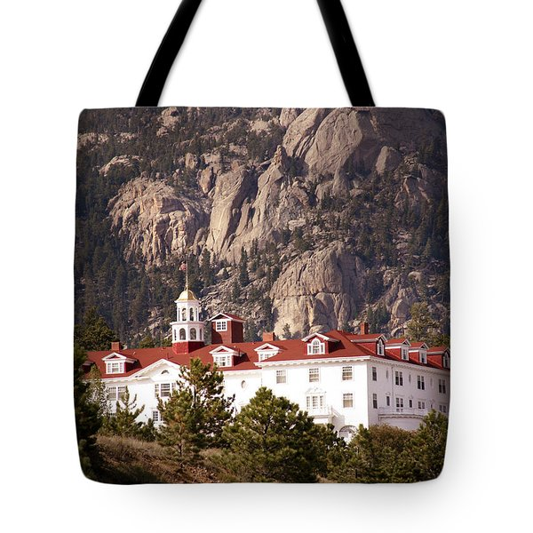 Stanley Hotel Estes Park Tote Bag by Marilyn Hunt