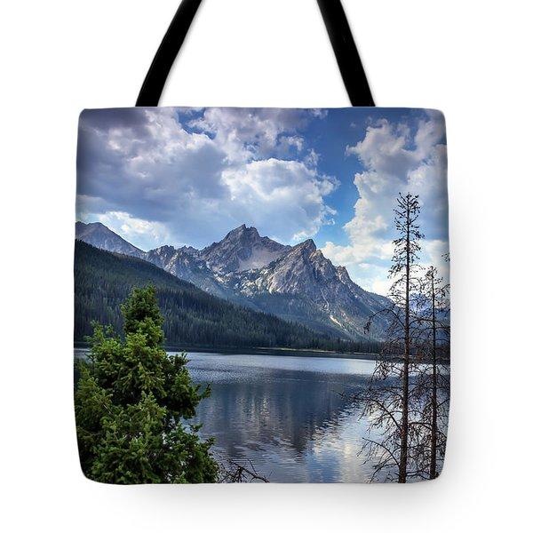 Stanley Lake View Tote Bag