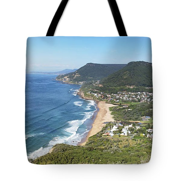 Stanwell Park Panorama Tote Bag