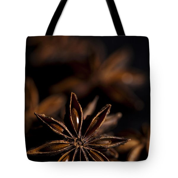 Star Anise Study Tote Bag by Anne Gilbert