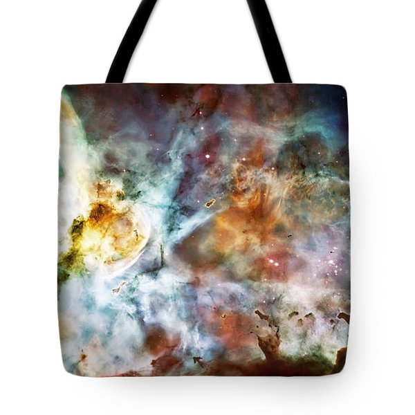 Star Birth In The Carina Nebula  Tote Bag by Jennifer Rondinelli Reilly - Fine Art Photography