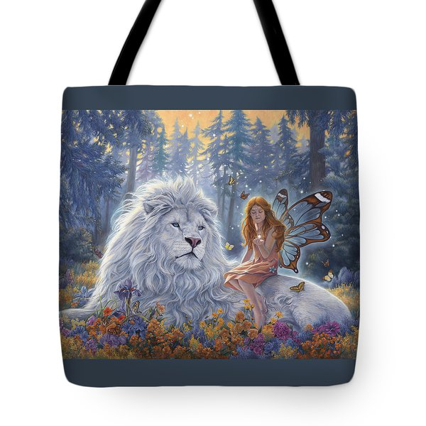 Star Birth Tote Bag by Lucie Bilodeau