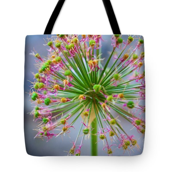 Tote Bag featuring the photograph Star Burst by John S