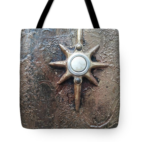Star Doorbell Tote Bag