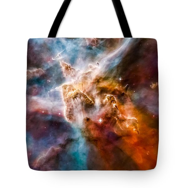 Star-forming Region In The Carina Nebula - Detail 1 Tote Bag