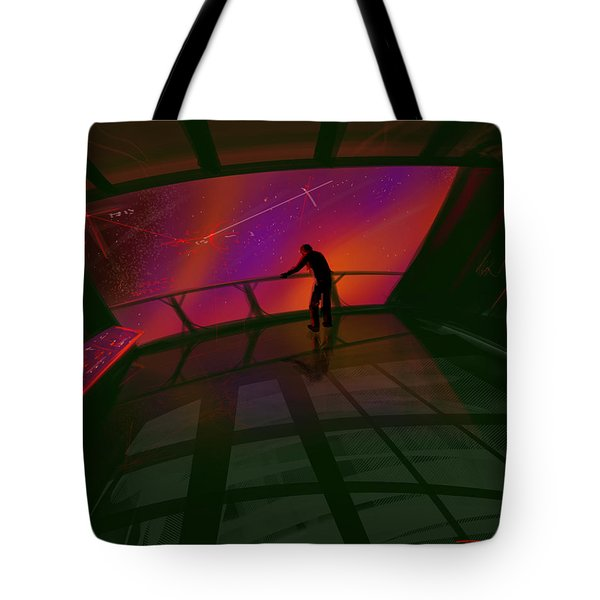 Star Gazer Tote Bag by James Christopher Hill