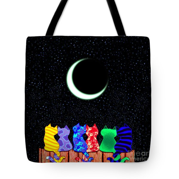 Star Gazers Tote Bag by Nick Gustafson