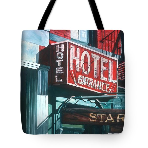 Star Hotel Tote Bag by Anthony Butera