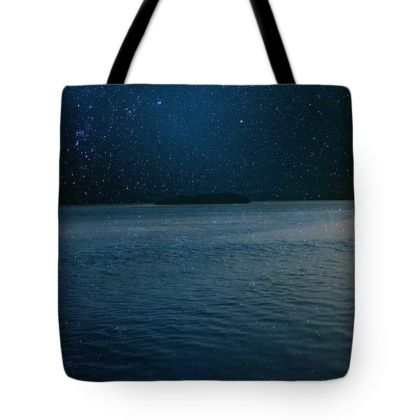Star Island Tote Bag by AR Annahita