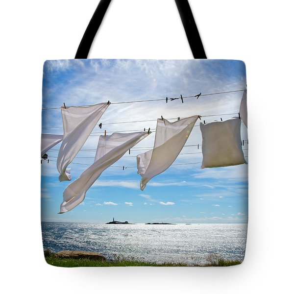 Star Island Clothesline Tote Bag