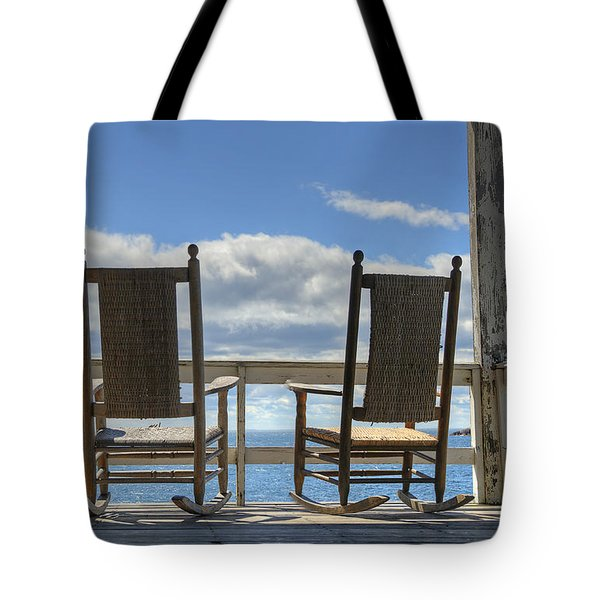 Star Island Rocking Chairs Tote Bag
