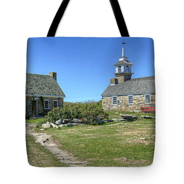 Star Island Village Tote Bag