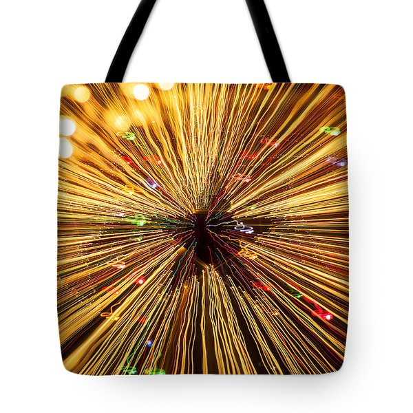 Star Lights Tote Bag by Garry Gay
