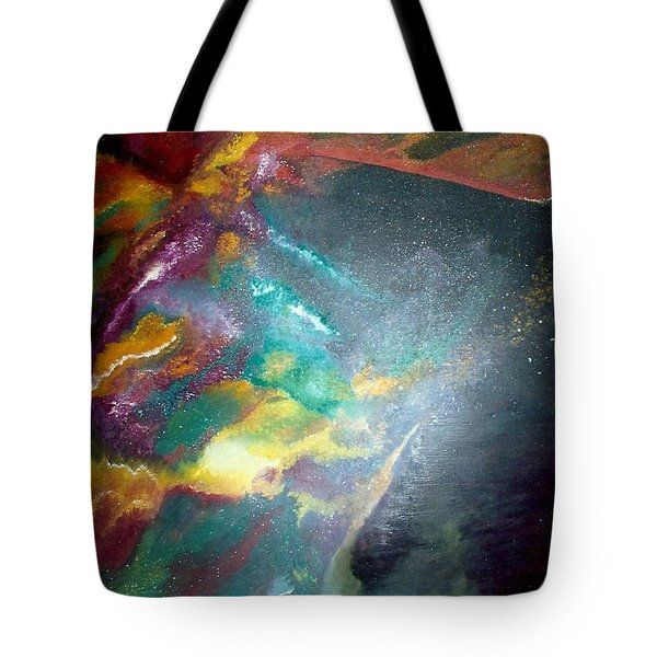 Star Nebula Tote Bag