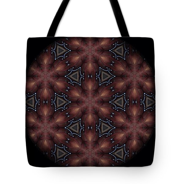 Star Octopus Mandala Tote Bag by Karen Buford
