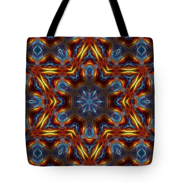 Star Of David Tote Bag by Lilia D