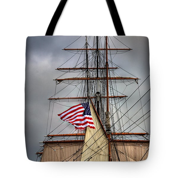 Star Of India Stars And Stripes Tote Bag
