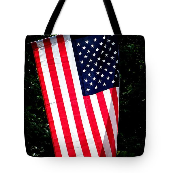 Tote Bag featuring the photograph Star Spangled Banner by Greg Simmons