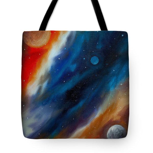 Star System 2034 Tote Bag by James Christopher Hill