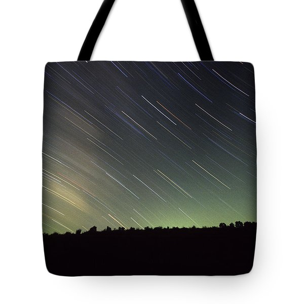 Star Trails Tote Bag