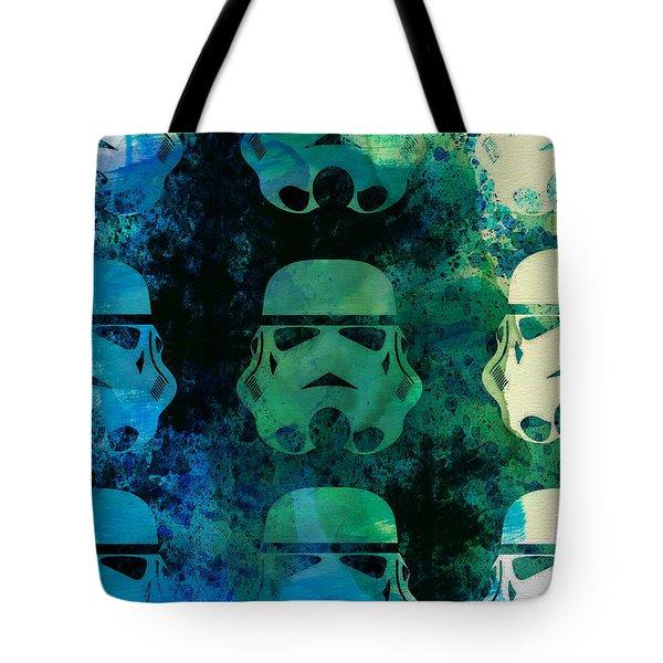 Star Warriors Watercolor 1 Tote Bag
