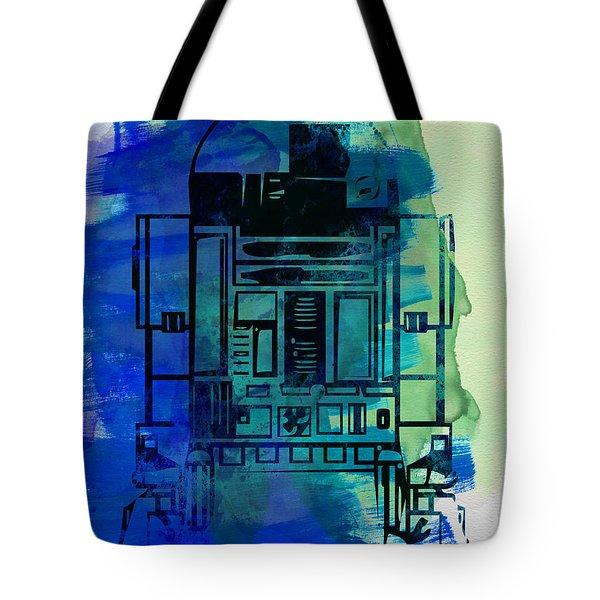 Star Warriors Watercolor 4 Tote Bag