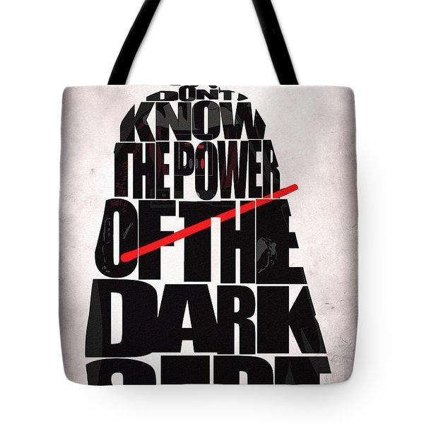 Star Wars Inspired Darth Vader Artwork Tote Bag