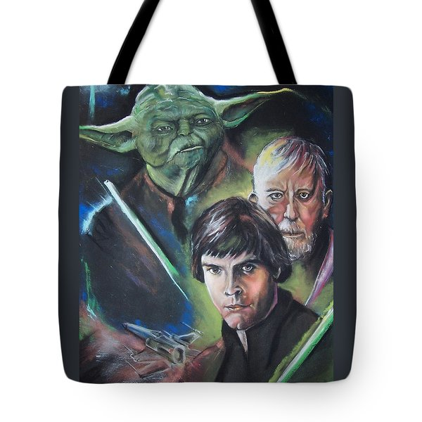 Star Wars Medley Tote Bag by Peter Suhocke