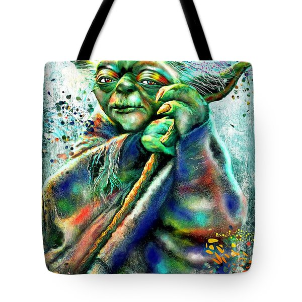 Star Wars Yoda Tote Bag