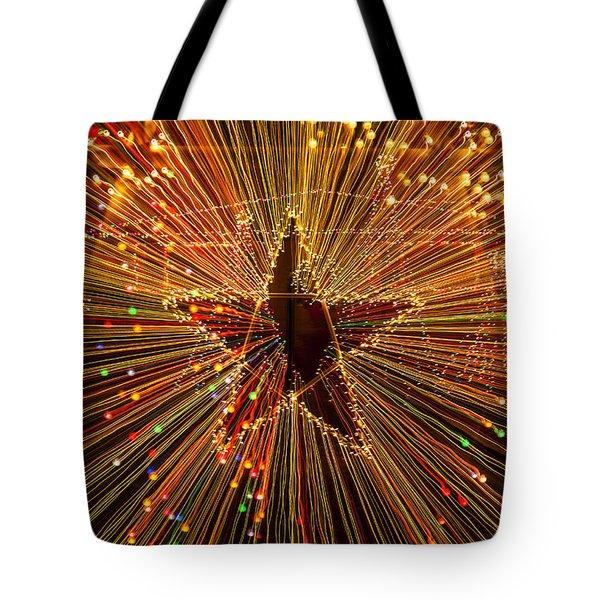 Star Zoom  Tote Bag by Garry Gay