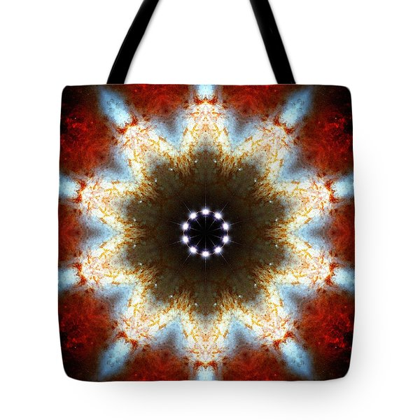 Starburst Galaxy M82 I Tote Bag