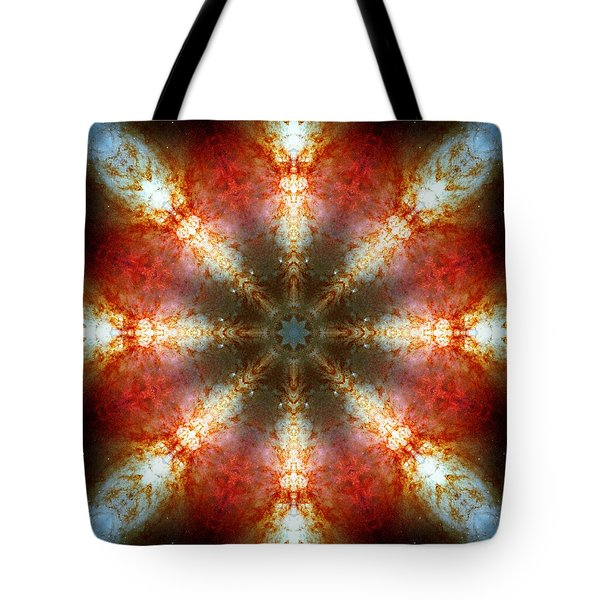 Starburst Galaxy M82 II Tote Bag