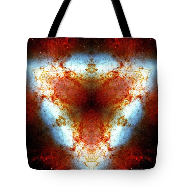 Starburst Galaxy M82 Vi Tote Bag