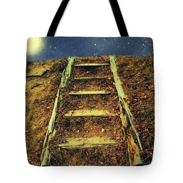 Starclimb Tote Bag