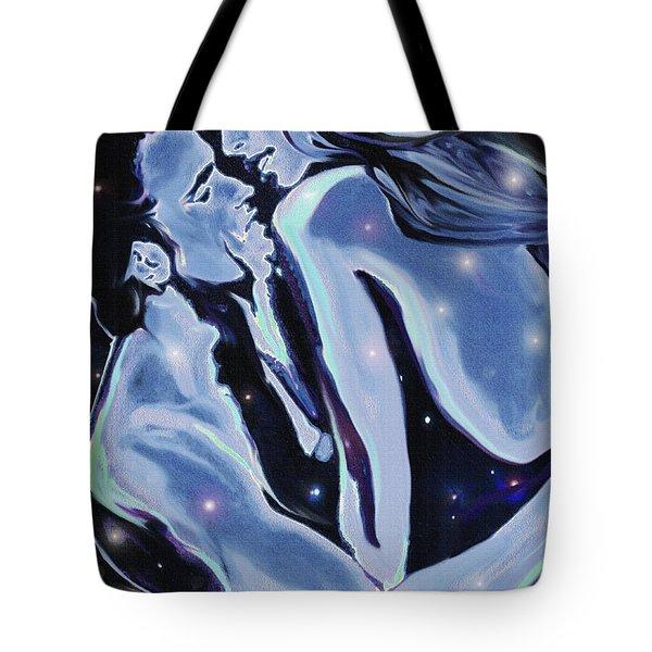 Starcrossed Lovers Tote Bag by Jane Schnetlage