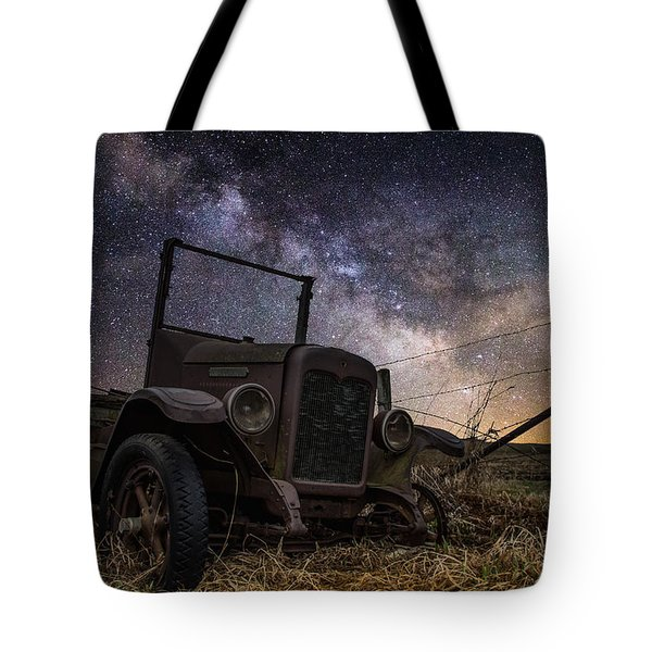 Stardust And  Rust Tote Bag