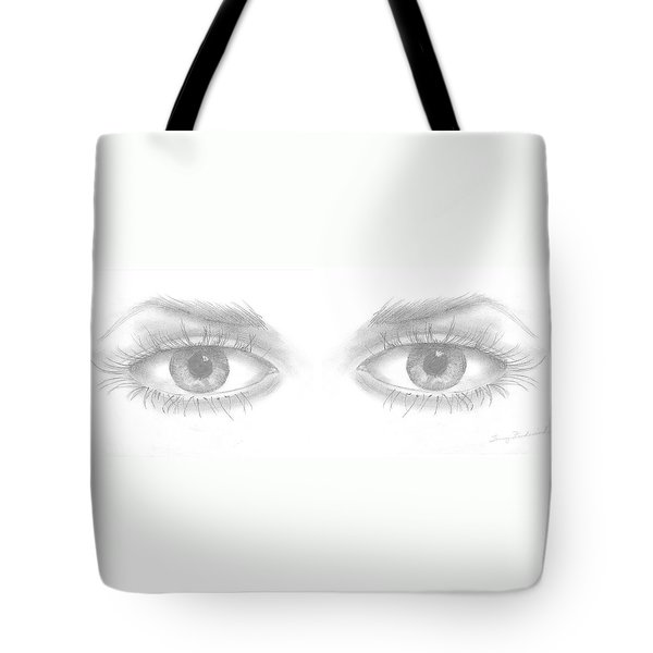 Stare Tote Bag by Terry Frederick
