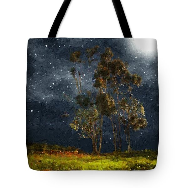 Starfield Tote Bag by RC deWinter